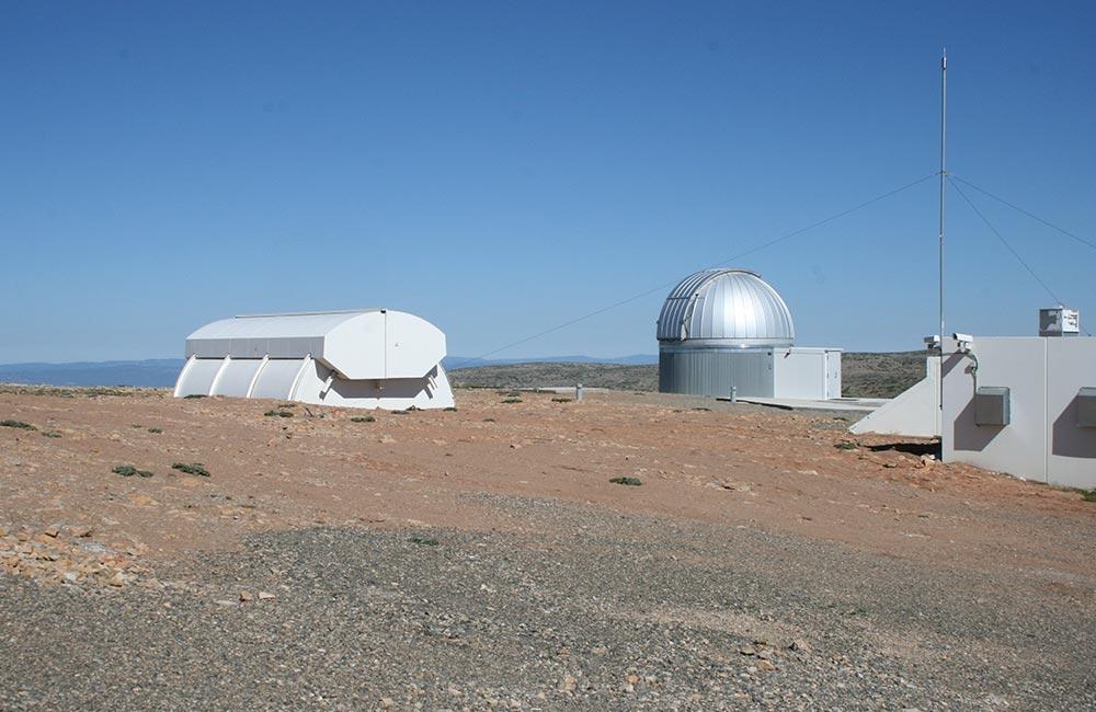 Cúpula Observatorio Astrofísico Javalambre 1